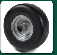 Flat Free Caster Tire Assembly for SW20 Series
